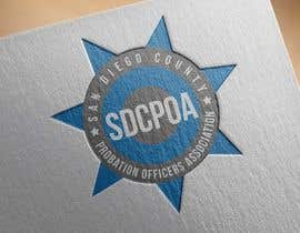 nº 28 pour Design a Logo for the SDCPOA the San Diego County Probation Officers Association par roedylioe