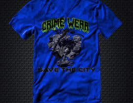 nº 102 pour Design a T-Shirt_Crime_Wear (save the city)v1 par adnanhabib9810