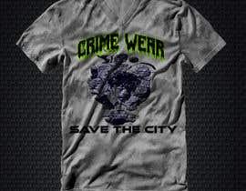 nº 103 pour Design a T-Shirt_Crime_Wear (save the city)v1 par adnanhabib9810