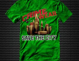 nº 105 pour Design a T-Shirt_Crime_Wear (save the city)v1 par adnanhabib9810