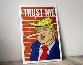nº 8 pour Trump with long nose image par jctuman