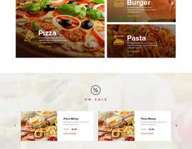 nº 18 pour Website Design Pizza Shop par anks44