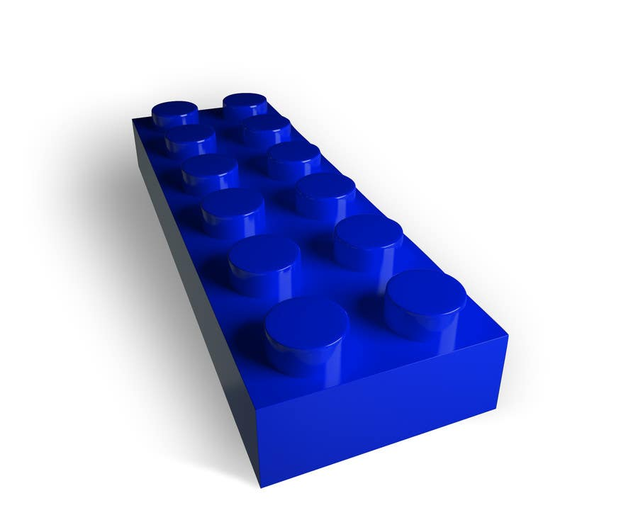 Proposition n°17 du concours 3D Rendering of a LEGO