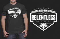 Proposition n° 37 du concours Graphic Design pour Relentless Tactical is looking for cool T Shirt Designs!