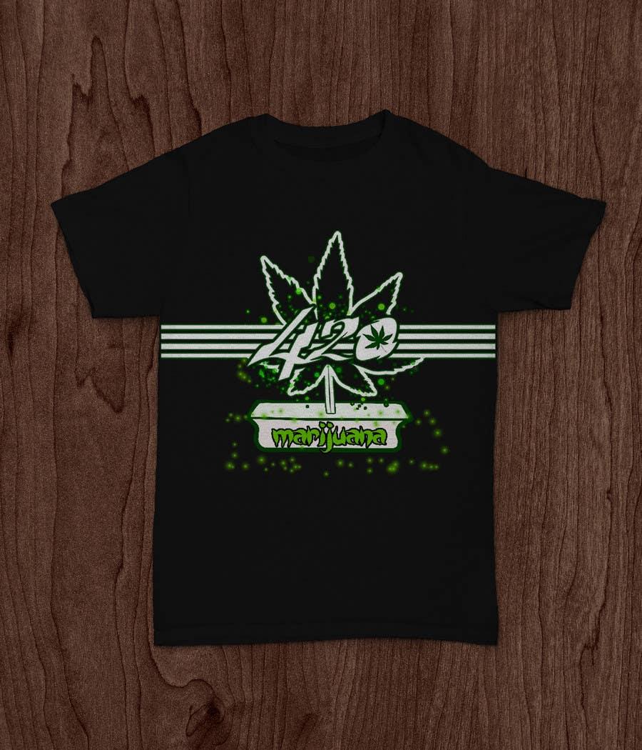 Contest Entry #72 for Design a 420 T-Shirt.