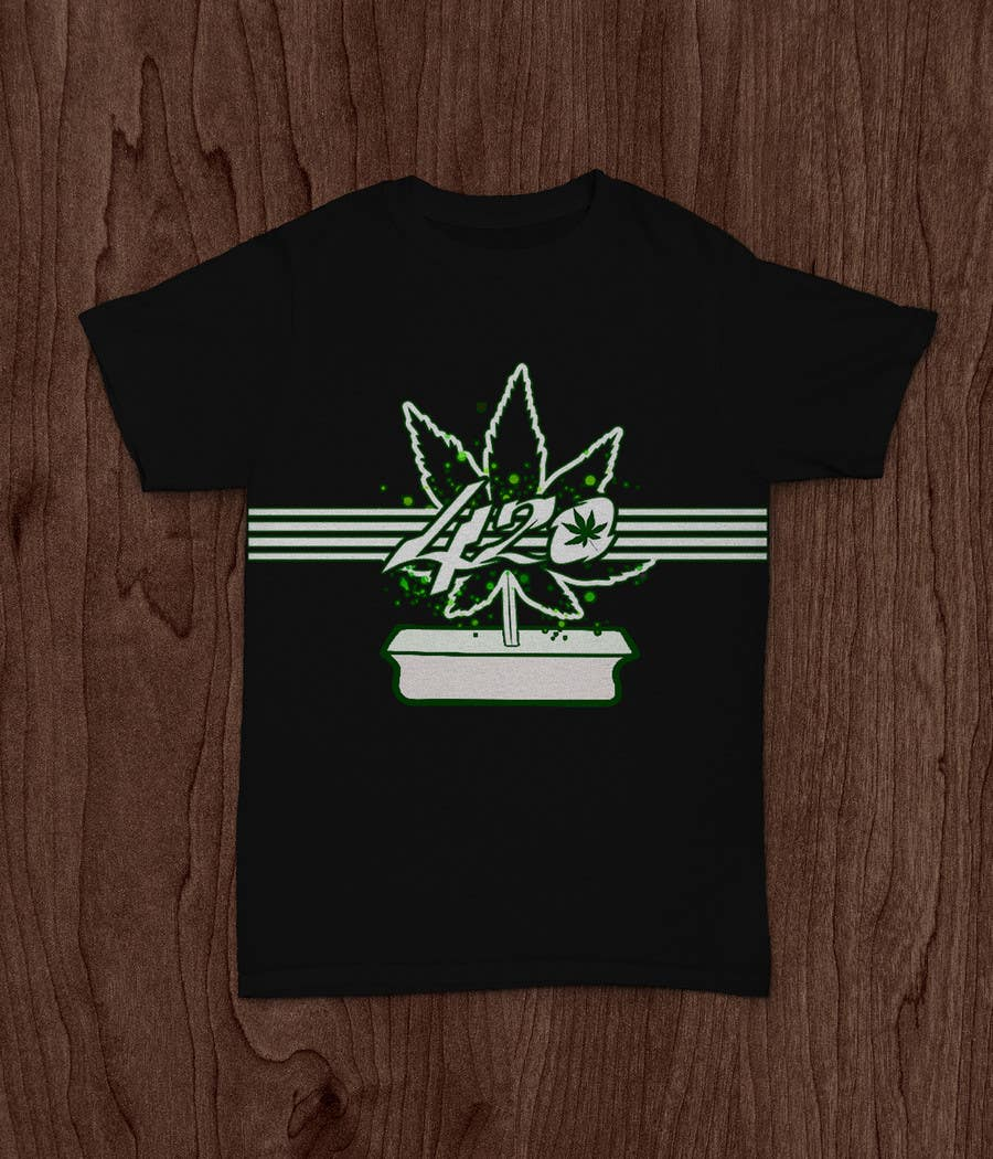 Contest Entry #73 for Design a 420 T-Shirt.