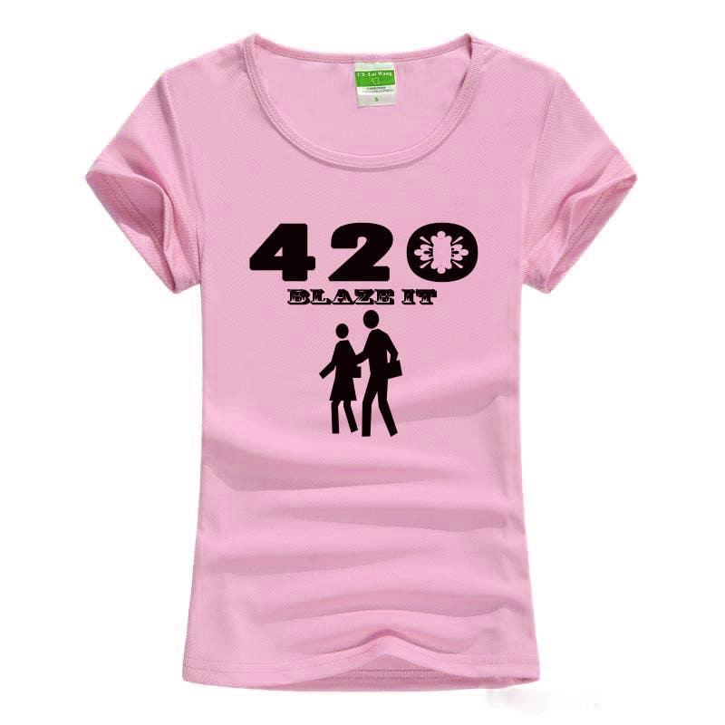 Kilpailutyö #36 kilpailussa Design a 420 T-Shirt.