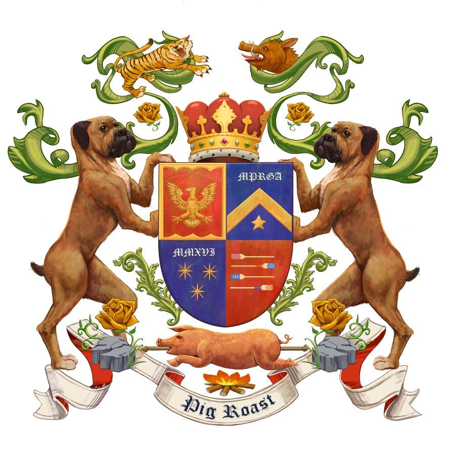 Proposition n°33 du concours Custom Medieval Coat of Arms