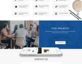 #14 for Design a Website Mockup for Communications Industry by webmastersud