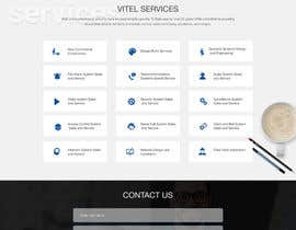 #24 for Design a Website Mockup for Communications Industry by webmastersud