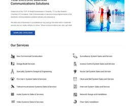 #5 for Design a Website Mockup for Communications Industry by clickinn