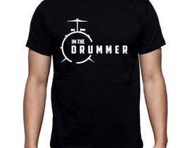 Nro 45 kilpailuun Design a Drummer T-shirt käyttäjältä Bugz318