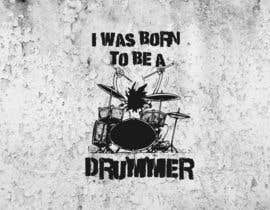 nº 68 pour Design a Drummer T-shirt par SupertrampDesign