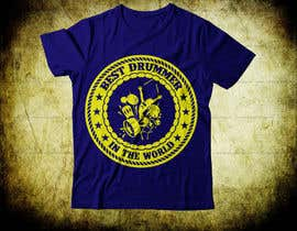 Nro 74 kilpailuun Design a Drummer T-shirt käyttäjältä Ruhulbd8