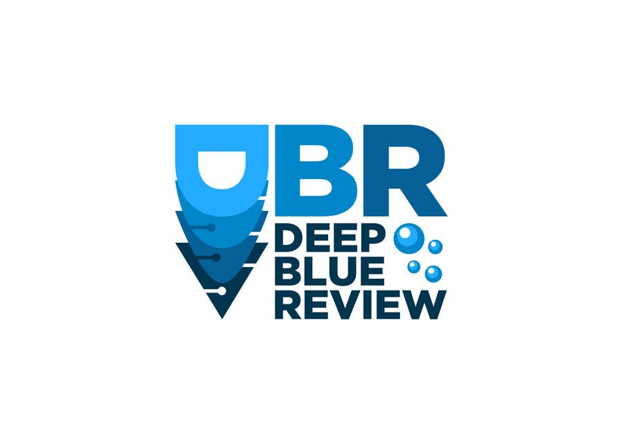 Proposition n°17 du concours Deep Blue Review logo required