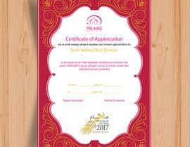 #13 for Design a A3 Certificate by MehediHasan42