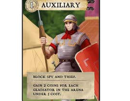 nº 12 pour Roman Auxiliary Illustration for Card Game par Milos009