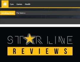 nº 11 pour Design a logo and a favicon for Star Line Reviews par vijaydasr