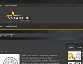 #17 for Design a logo and a favicon for Star Line Reviews by sbparag