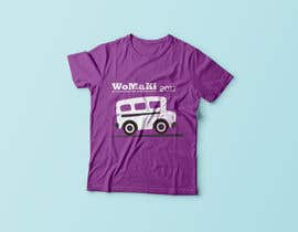 #15 for WoMaKi T-shirt logo by Mostaq20