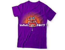 #24 for WoMaKi T-shirt logo by hanifurcreative