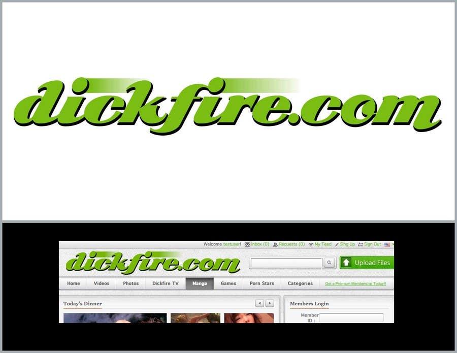 Konkurrenceindlæg #                                        7                                      for                                         Logo Design for dickfire.com