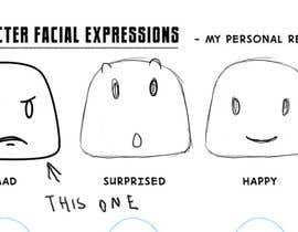 nº 10 pour Facial expressions for a character par marcelmori