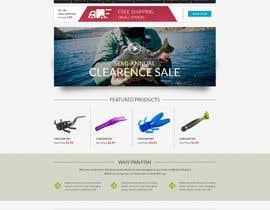 #19 untuk Design a Website Mockup for ecommerce fishing store oleh alpyraj81