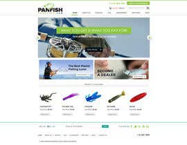 #10 untuk Design a Website Mockup for ecommerce fishing store oleh axeemsharif