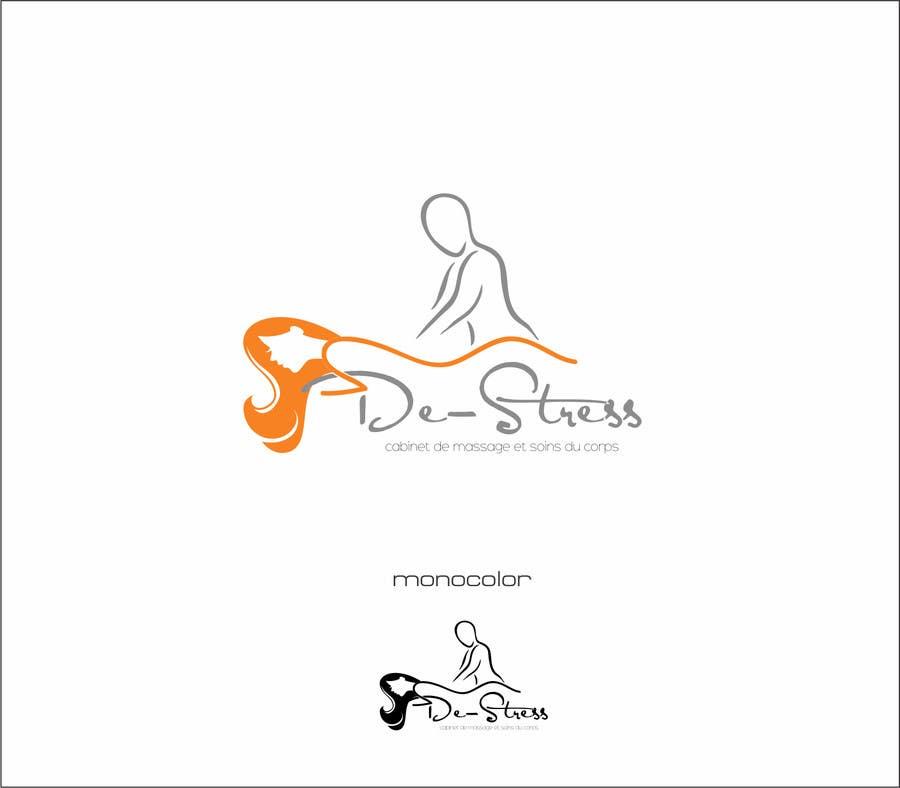 Kilpailutyö #                                        8                                      kilpailussa                                         Logo pour cabinet de massage et soins du corps