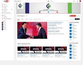 Nro 37 kilpailuun I need a banner and logo (youtube, facebook, twitter, google+) käyttäjältä himujaved