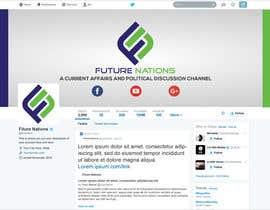 Nro 38 kilpailuun I need a banner and logo (youtube, facebook, twitter, google+) käyttäjältä himujaved