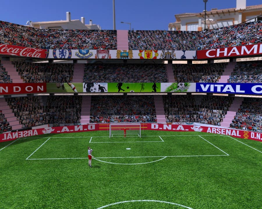 Proposition n°10 du concours Do some 3D Modelling - Create A 3d Half Football Stadium