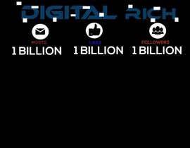 nº 19 pour Design a T-Shirt_Digital Rich par akarim5566