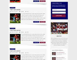 #4 for Wordpress Football Blog (WESTHAMNOW) by webidea12