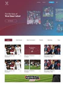 Image of                             Wordpress Football Blog (WESTHAM...