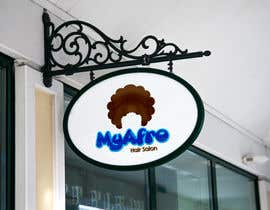 "#8 for logo design for my "" MyAfro"" by engrmykel"
