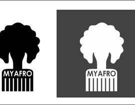 """Nro 5 kilpailuun logo design for my """" MyAfro"""" käyttäjältä gauravvipul1"""