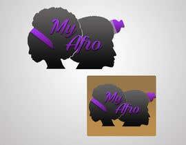 """Nro 28 kilpailuun logo design for my """" MyAfro"""" käyttäjältä Seap05"""