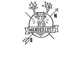 nº 9 pour Wanderlust Logo par hrossdesign
