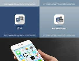#31 for 4 separate mobile app icons designs are needed by mariusunciuleanu