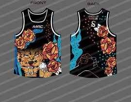#28 for Replicate graphic art onto running singlet by gilart