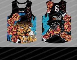 #35 for Replicate graphic art onto running singlet by gilart