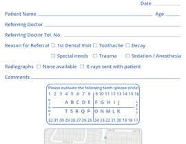 nº 6 pour Referral Pad for Pediatric Dental Practice par leiidiipabon24