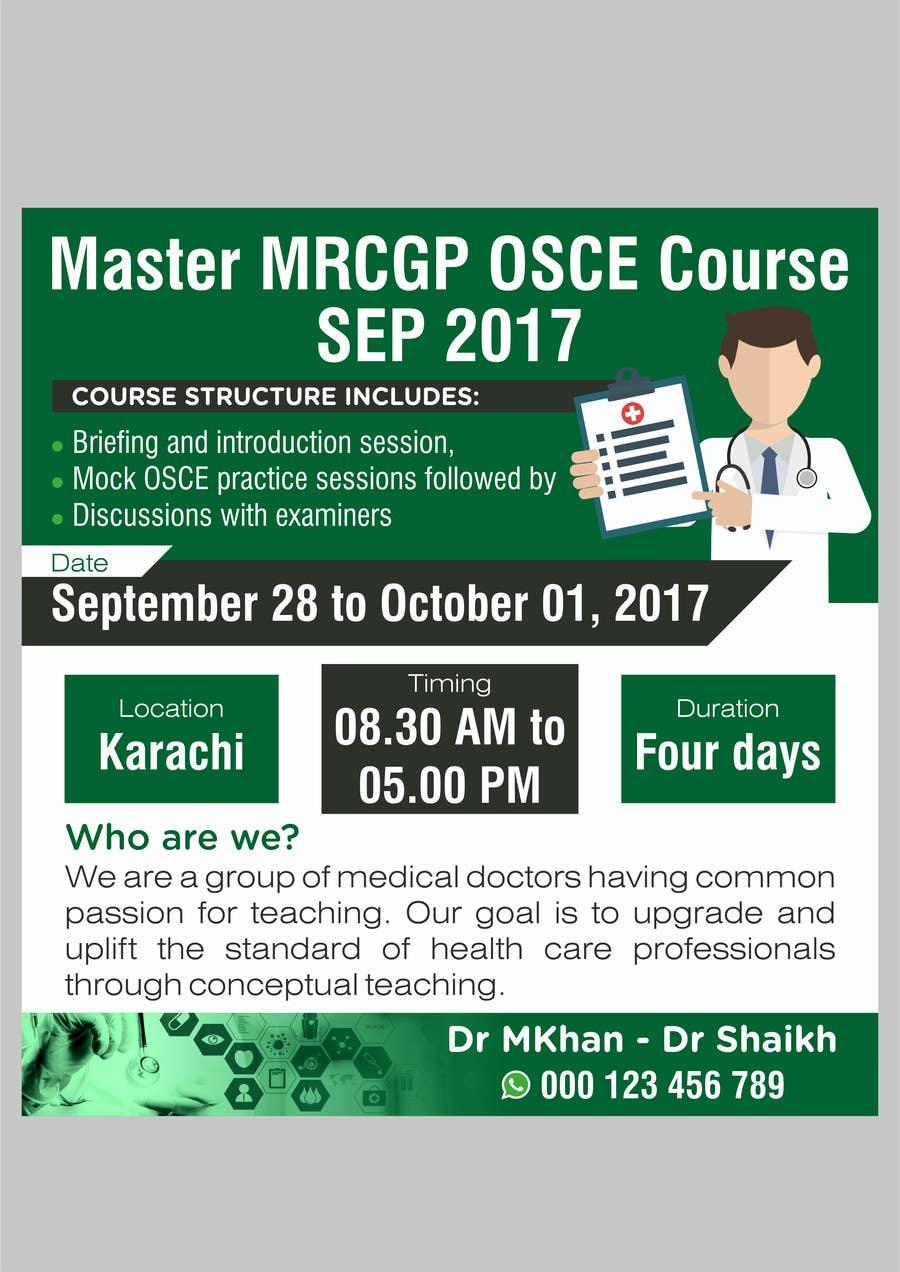 Proposition n°7 du concours Advertisement for Medical Course