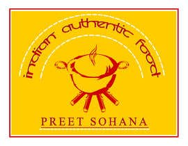 "nº 29 pour Logo for ""Indian Authentic Food By Preet Sohana"" par shrinathnair3"