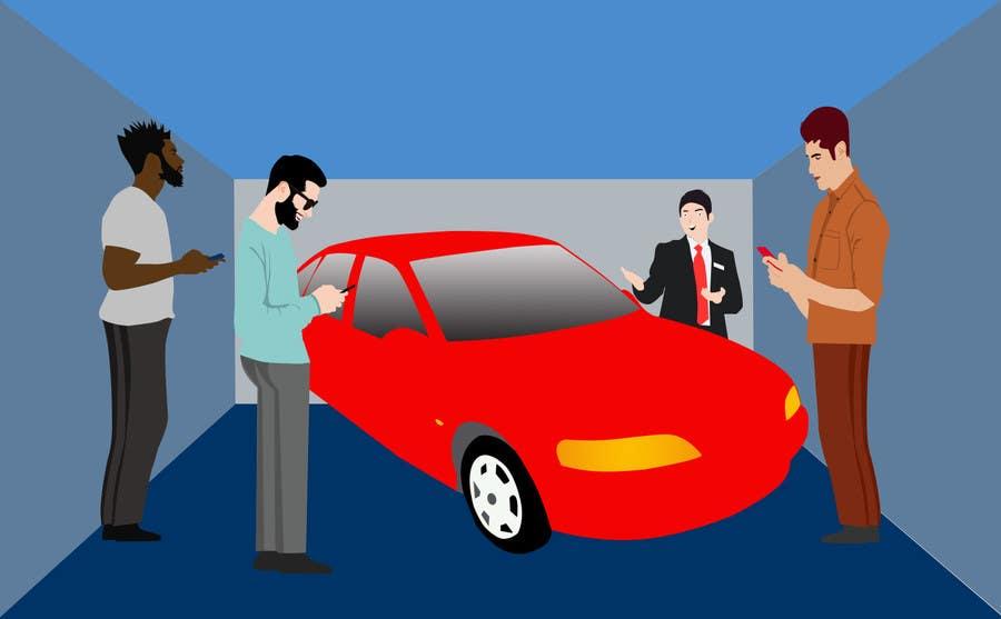 Proposition n°1 du concours Create images to explain blind.auction service