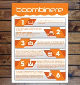 #10 for One Page Printable Flyer - How To Infographic by himali1988
