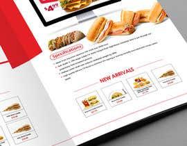 Nro 25 kilpailuun Create a Print Design for a Morrocan fast food käyttäjältä sub2016