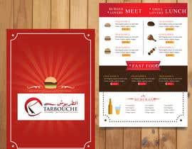 Nro 29 kilpailuun Create a Print Design for a Morrocan fast food käyttäjältä anjumonowara